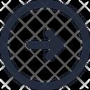 Control Arrow Right Icon