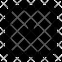 Arrow Square Down Icon