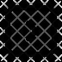 Arrow Square Right Icon