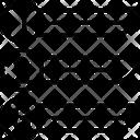 Arrow Text Box Icon