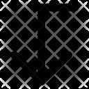 Arrow Bottom Down Icon