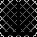 Arrow To Bottom Icon