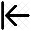 Arrow To Far Left Icon