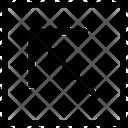 Arrow Top Left Line Upward Icon