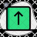 Arrow Up Square Icon