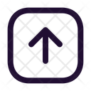 Arrow Up Square Up Arrow Up Icon