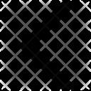 Arrowhead Left Arrow Icon