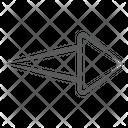 Arrowhead Direction Arrow Right Arrow Icon