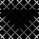 Arrowhead Down Arrow Icon