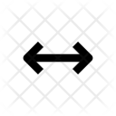 Arrows Width Scale Icon