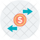 Arrows Direction Dollar Icon