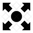Arrows Enlarge Expand Icon