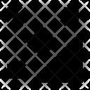 Arrows Expand Screen Icon