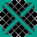Arrows Maximize Expand Icon