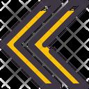 Arrow Double Chevron Icon