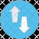 Arrows Upload Download Icon