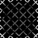 Arrows Rotating Earth Icon