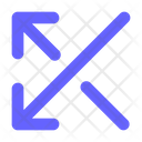Arrows Random Shuffle Icon
