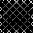 Arrows Bar Chart Icon
