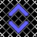 Arrows Resize Scroll Icon