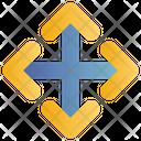 Arrows Direction Reshape Icon