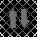 Order Arrows Up Icon