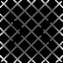 Arrows Resize Horizontal Scroll Icon