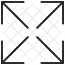 Arrows Expand Maximize Icon