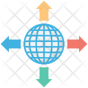 Arrows Four Directions Icon