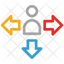 Arrows Indication Indicator Icon
