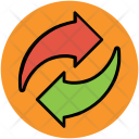 Arrows Initializing Process Icon