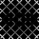 Arrows Breake Harrow Icon