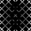 Arrows Breake Varrow Icon