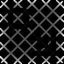 Arrows Expand Down Rightarrow Icon