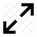 Arrows Expand Rightarrow Icon