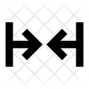 Arrows Merge Alt Harrow Icon