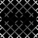 Arrows Shrink Harrow Icon