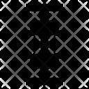 Arrows Shrink Varrow Icon