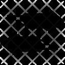 Arrows Signage Icon