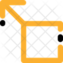 Arrows Square Up Left Icon