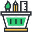 Art Tool Designing Icon