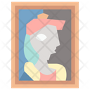 Art Canvas Painting Icon