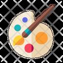Art Brush Paint Icon