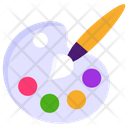 Art Paint Bold Painting Icon