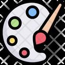 Color Palette Icon