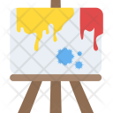 Canvas Artist Painting Icon