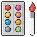 Art Paint Color Icon