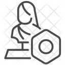 Nft Blockchain Non Fungible Token Icon