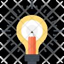 Art Bulb Draw Icon