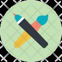 Art Artist Crayon Icon